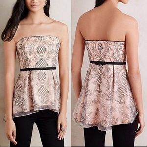 Anthro Moulinette Soeurs Blush Embroidered…